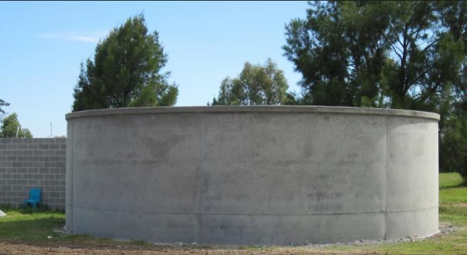 underground concrete water tanks